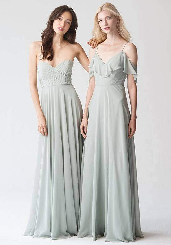 d7b844c0e7f Jenny Yoo Collection (Maids) Adeline  Morning Mist   1781 Bridesmaid Dress  - The Knot