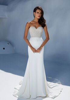 f925230e73f Justin Alexander 88004 Sheath Wedding Dress
