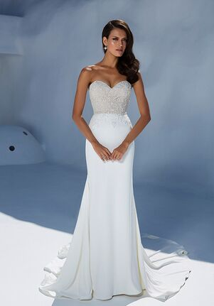 Justin Alexander 88004 Sheath Wedding Dress