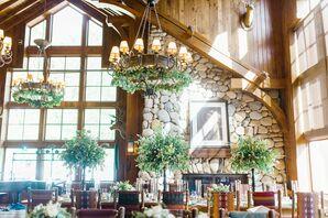 Rustic Reception at Saddleridge at Beaver Creek