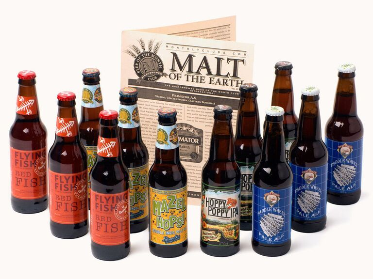 Craft beer subscription Christmas gift for father-in-law