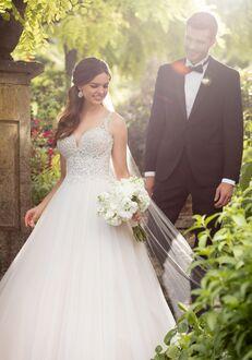 Essense of Australia D2409 Ball Gown Wedding Dress