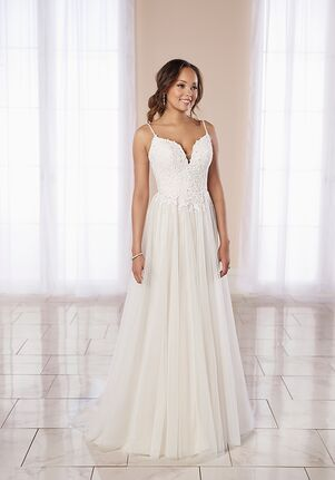 Stella York 7018 A-Line Wedding Dress