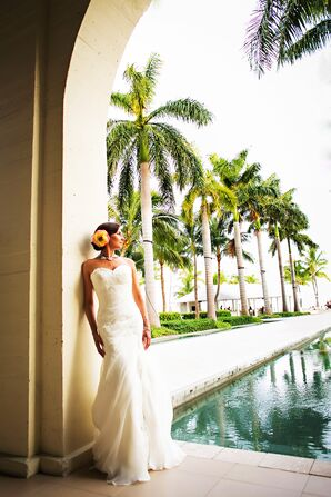 Romantic White Martina Liana Wedding Dress