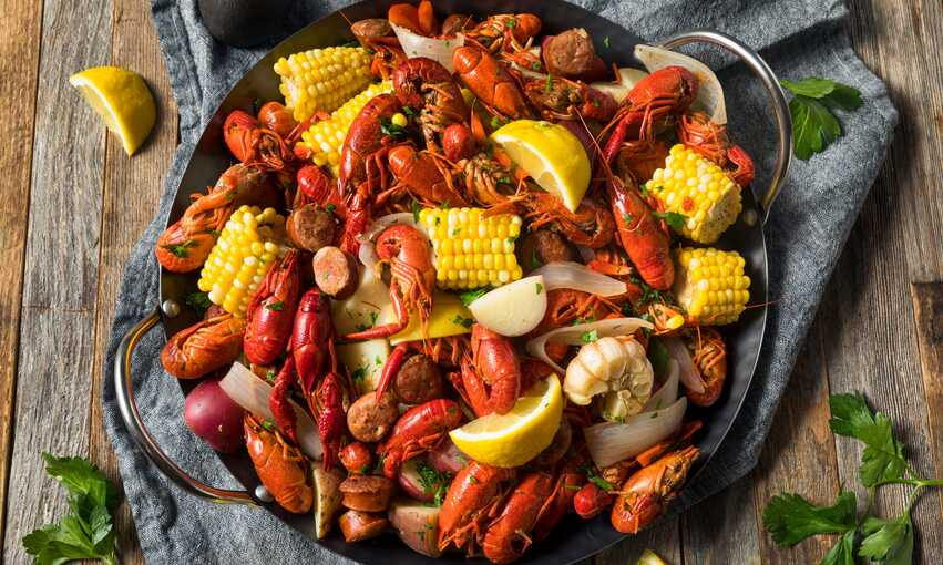 Clambake party themed inspiration and ideas