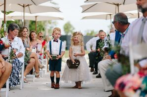 Vintage-Inspired Shorts and Suspenders Ring Bearer Look