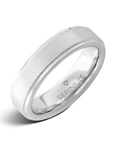 Serinium® Collection Stonepiper Slim — Stone Finish Serinium® Ring-RMSA001925 Serinium® Wedding Ring