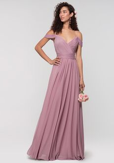 Kleinfeld Bridesmaid KL-200038 V-Neck Bridesmaid Dress