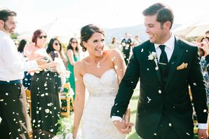 White Flower Petal Recessional