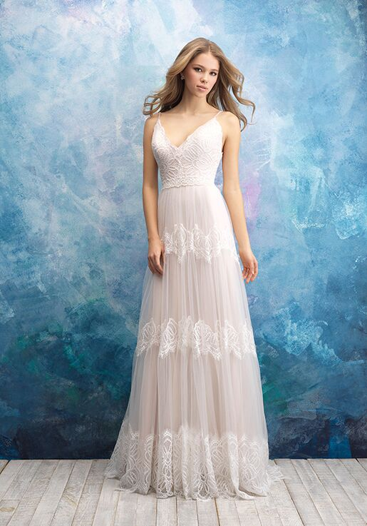 Allure Bridals 9555 A-Line Wedding Dress