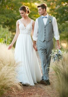 Essense of Australia D2292 Sheath Wedding Dress