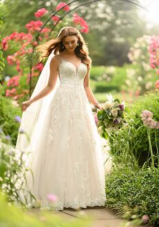 Essense of Australia D2905 A-Line Wedding Dress