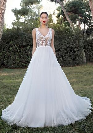 Demetrios 200103 A-Line Wedding Dress