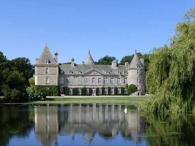 Pavillon du Chateau de Tocqueville, Tocqueville, France