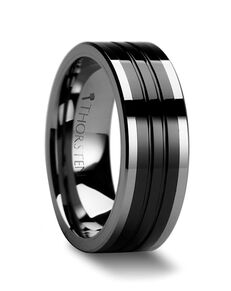 Mens Tungsten Wedding Bands W223-FGCT Tungsten Wedding Ring