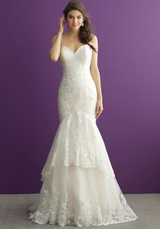 Allure Romance 2958 Sheath Wedding Dress