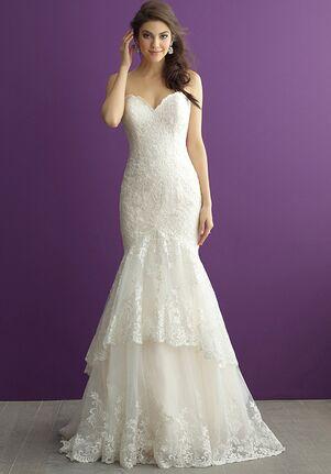 Allure Romance 2958 Sheath Wedding Dress