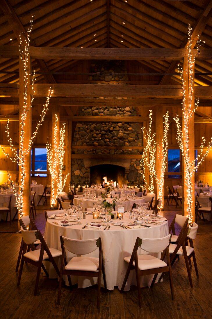 Simple, Romantic Reception at Devil's Thumb Ranch