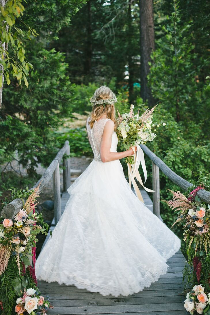 A Nature Inspired Bride