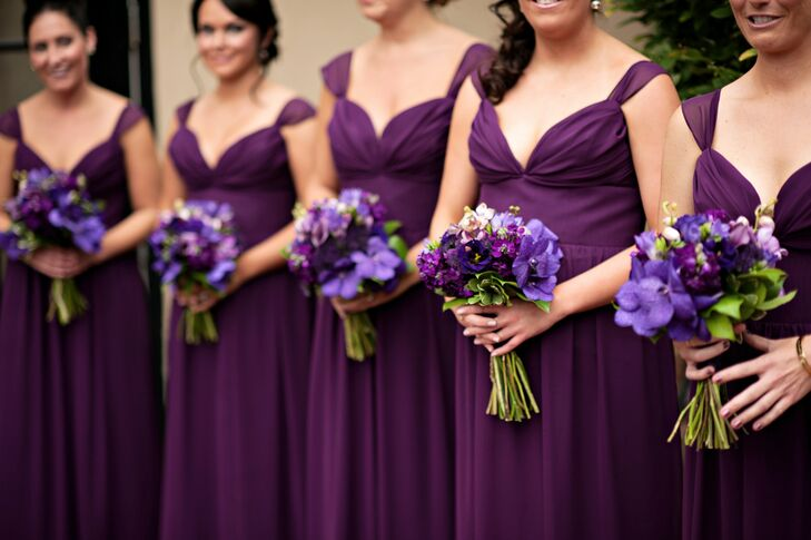 b1b00cb896a Violet Bridesmaid Dresses