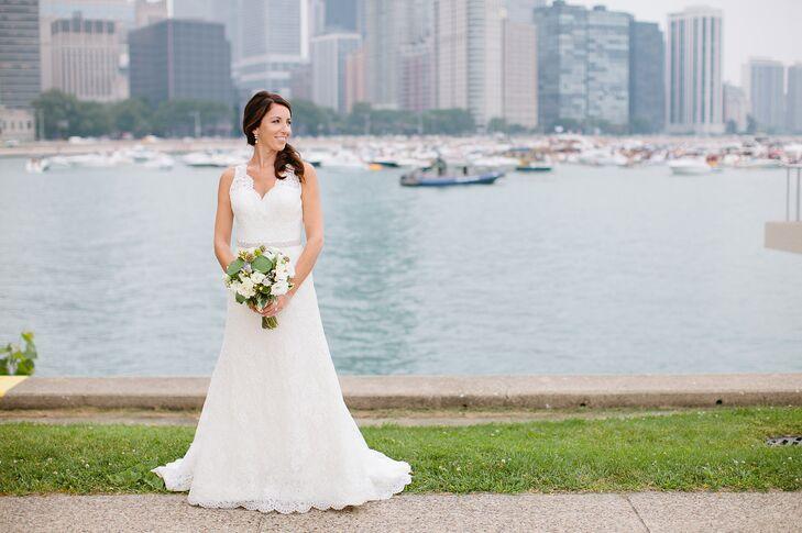 White Lace Augusta Jones Wedding Dress