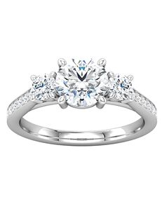ever&ever Elegant Princess, Asscher, Cushion, Emerald, Marquise, Pear, Round, Oval Cut Engagement Ring