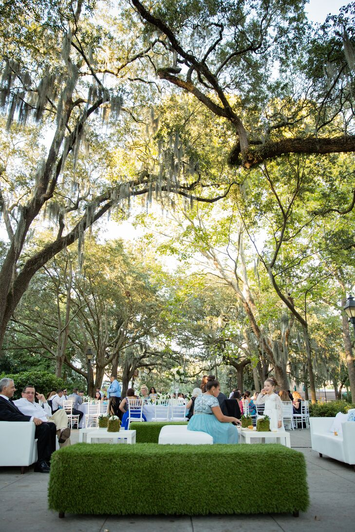 Forsyth Park Outdoor Reception