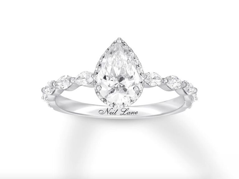 Kay Jewelers Neil Lane premiere diamond engagement ring in 14K gold