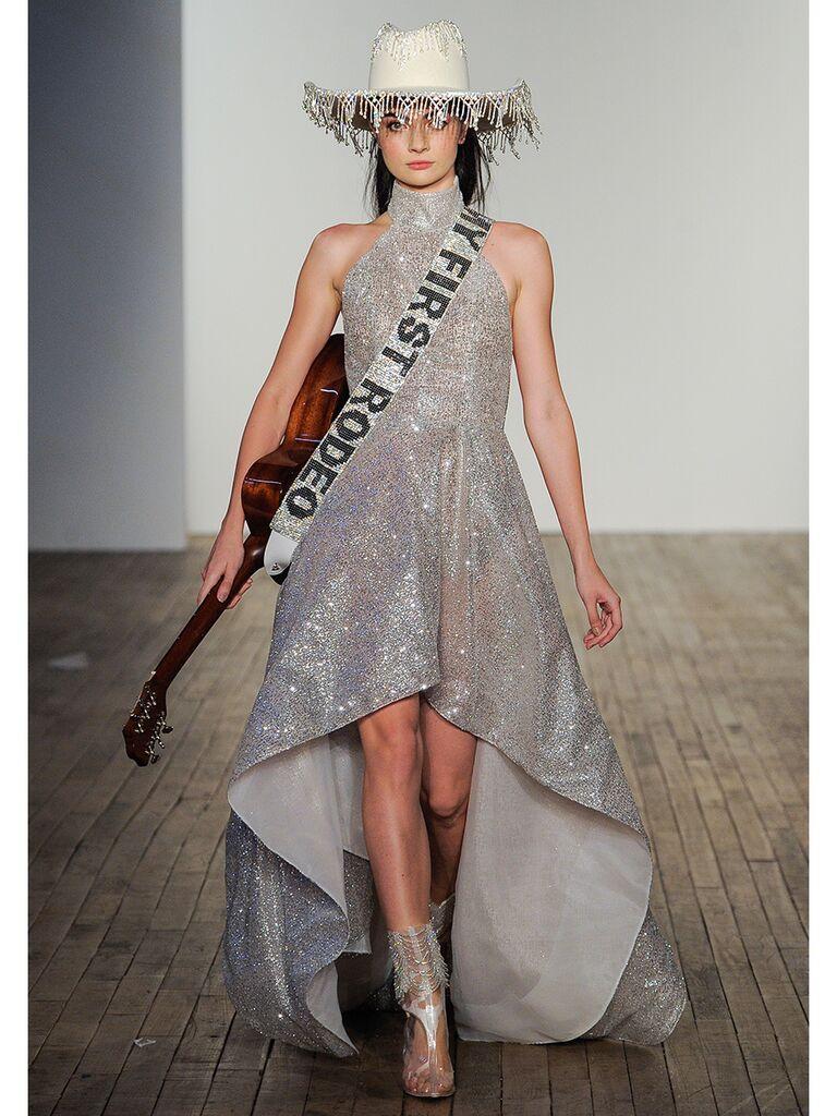 Hayley Paige High-Low Wedding Dress