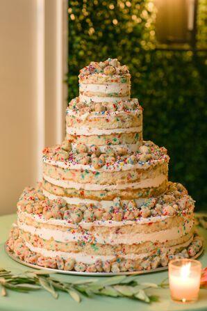 Milk Bar-Style Naked Confetti Cake