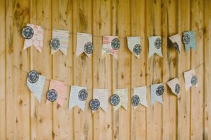 Paper Flag Escort Cards