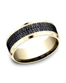 Benchmark CF948830BKT14KY Gold Wedding Ring