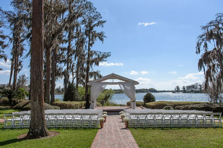 Wedding Ceremony at Cypress Grove Estate House in Orlando, Florida