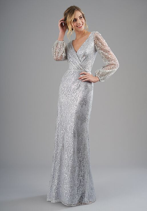 B2 Bridesmaids by Jasmine B203062 V-Neck Bridesmaid Dress
