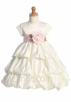 Pink Princess BL204 Ivory Flower Girl Dress