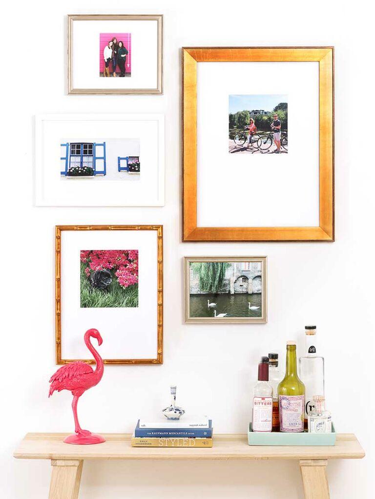 Gallery wall frames set