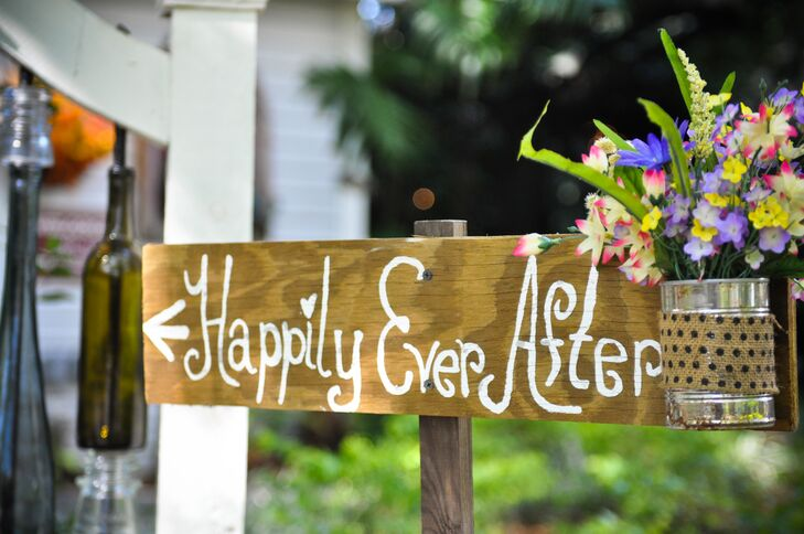 'Happily Every After' Ceremony Sign