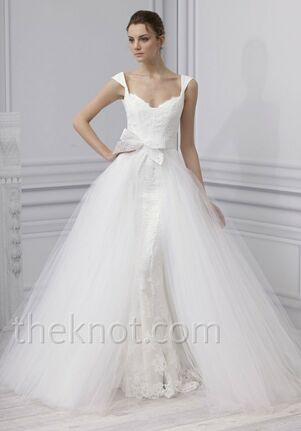 Monique Lhuillier Embrace Sheath Wedding Dress