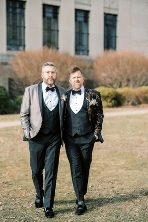 Wedding Portraits at the Everhart Museum in Scranton, Pennsylvania
