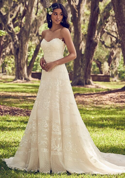 Maggie Sottero Renee A Line Wedding Dress