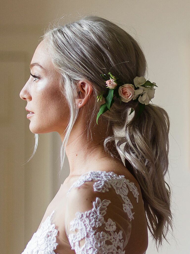 Wedding Hair Ponytail Best Hairstyles 2018