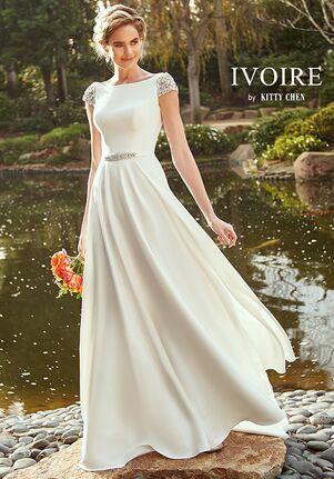 IVOIRE by KITTY CHEN PEYTON, V2013 Sheath Wedding Dress
