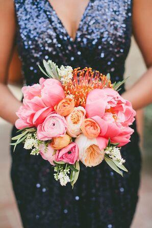 Protea, Rose and Tulip Bouquet
