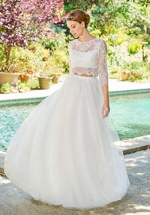 Simply Val Stefani S2052 Top / S2062 Skirt A-Line Wedding Dress