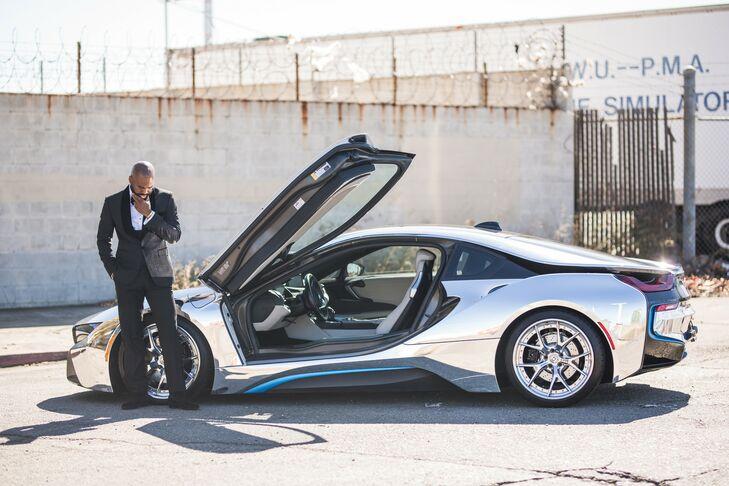 Luxury Sports Car Wedding Transportation