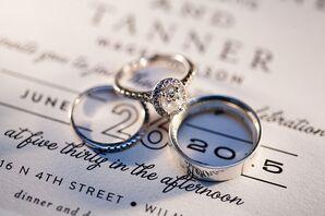 Fingerprint-Engraved Wedding Band