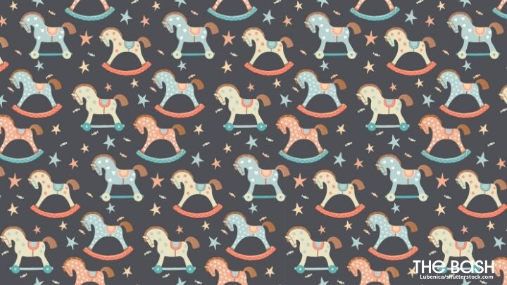 Rocking Horse Zoom Background