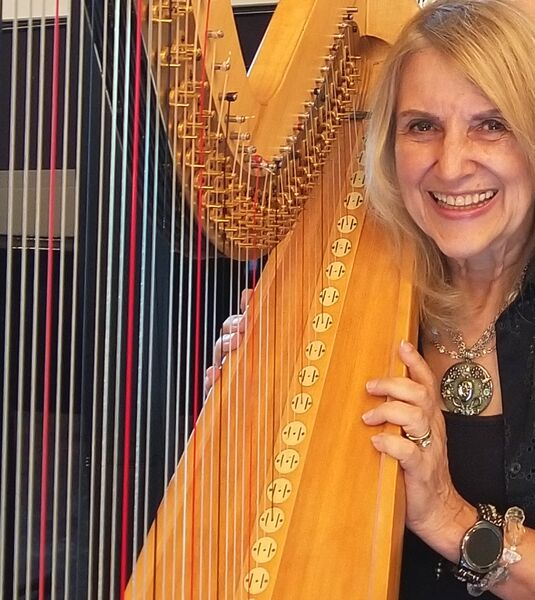 Margaret Atkinson -  4 The Dallas Strings - Harpist - Dallas, TX