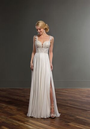Martina Liana Carina + Shae Sheath Wedding Dress