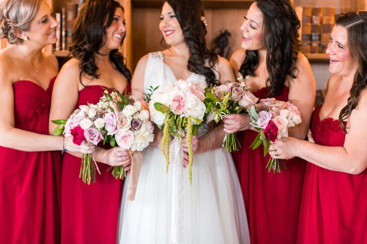 Tara and Her Bridesmaids